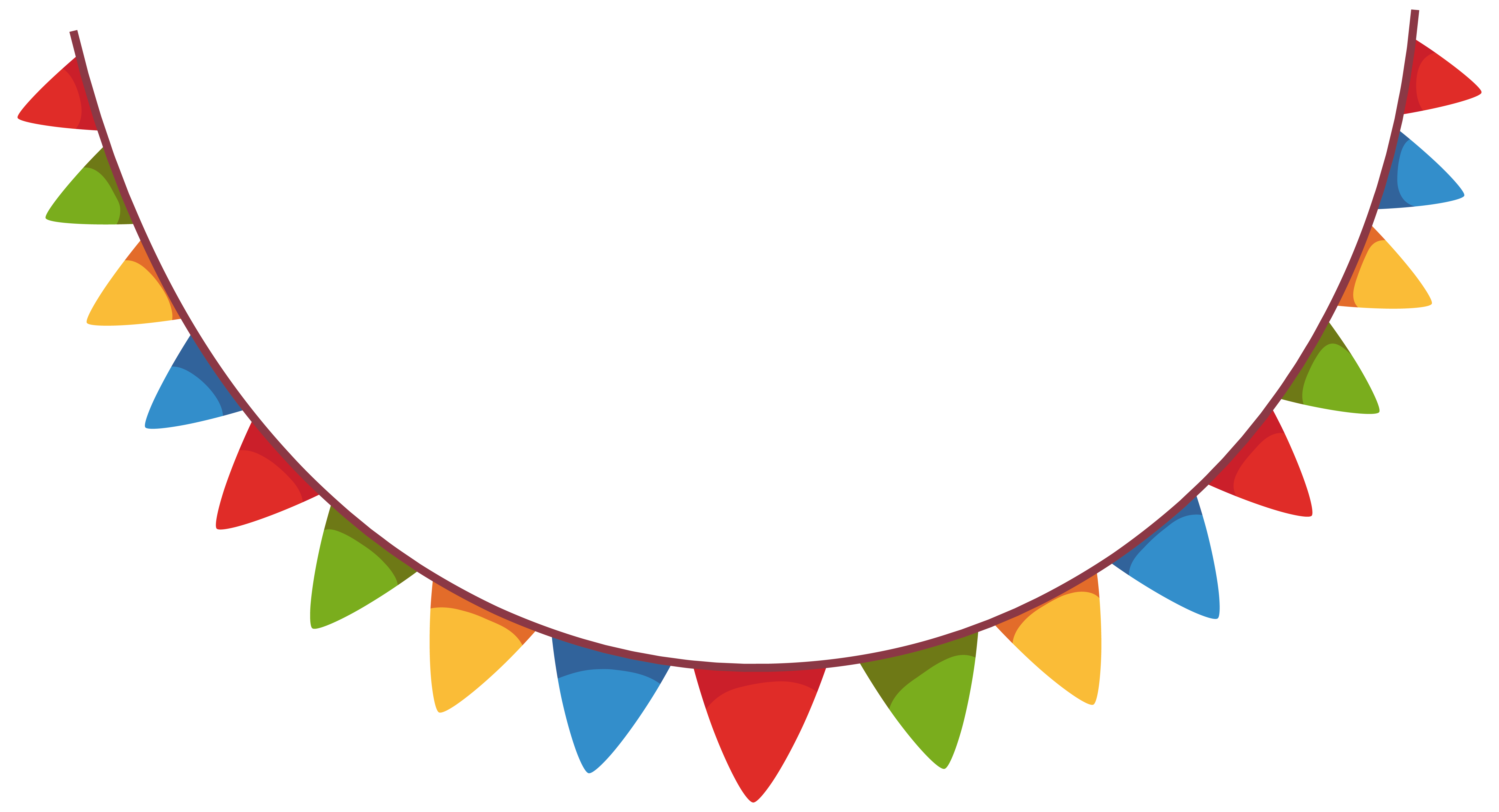 Streamer decoration png picture. Party clipart clip art