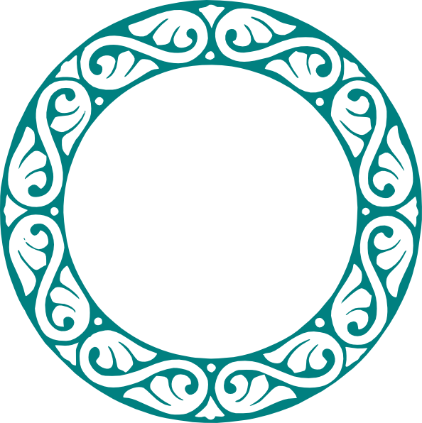 Clipart circle vector. Decorative