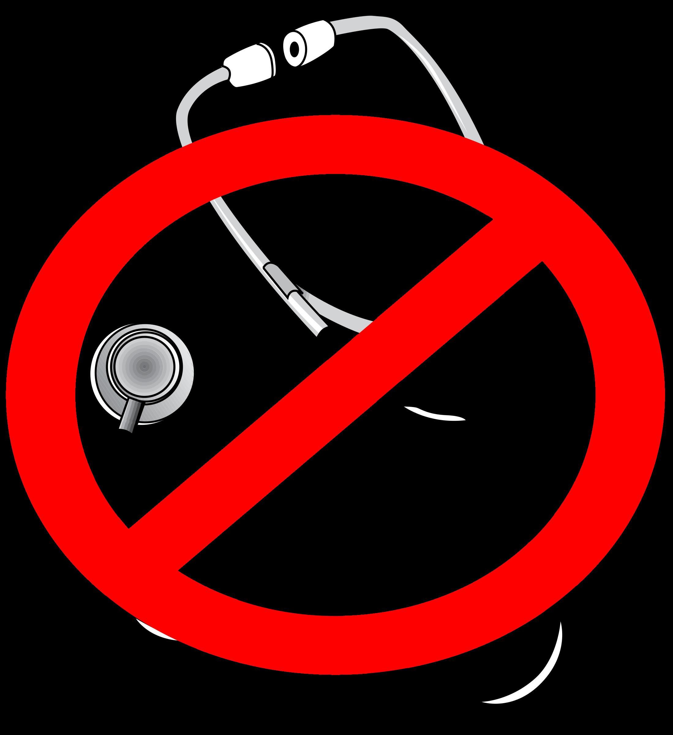 No doctors big image. Circle clipart doctor
