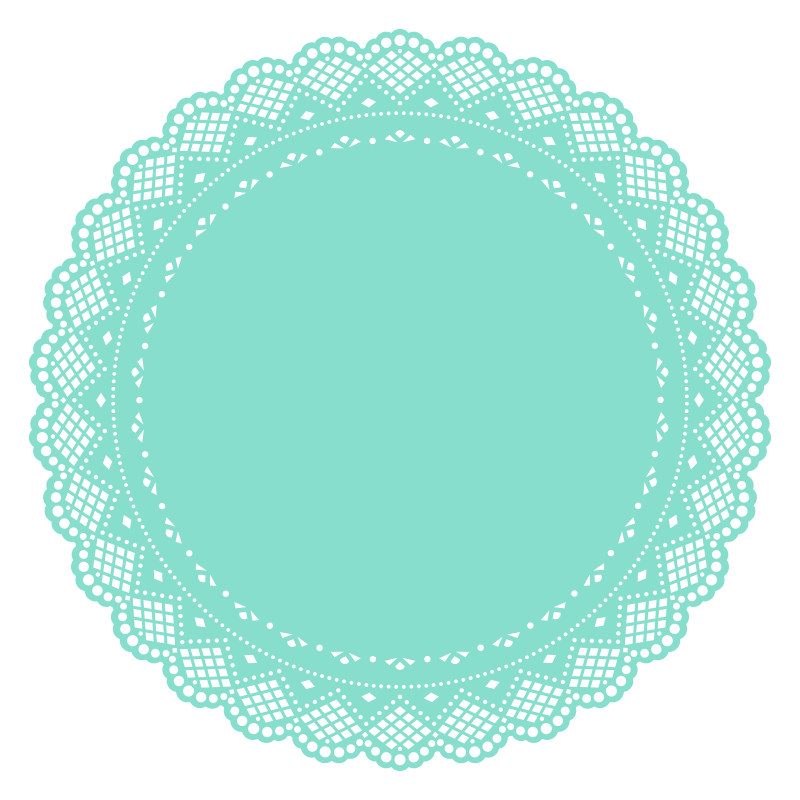 Craft time pinterest scrapbooking. Circle clipart doily