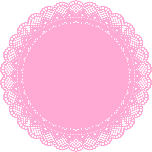 Doiley google search cumplea. Circle clipart doily