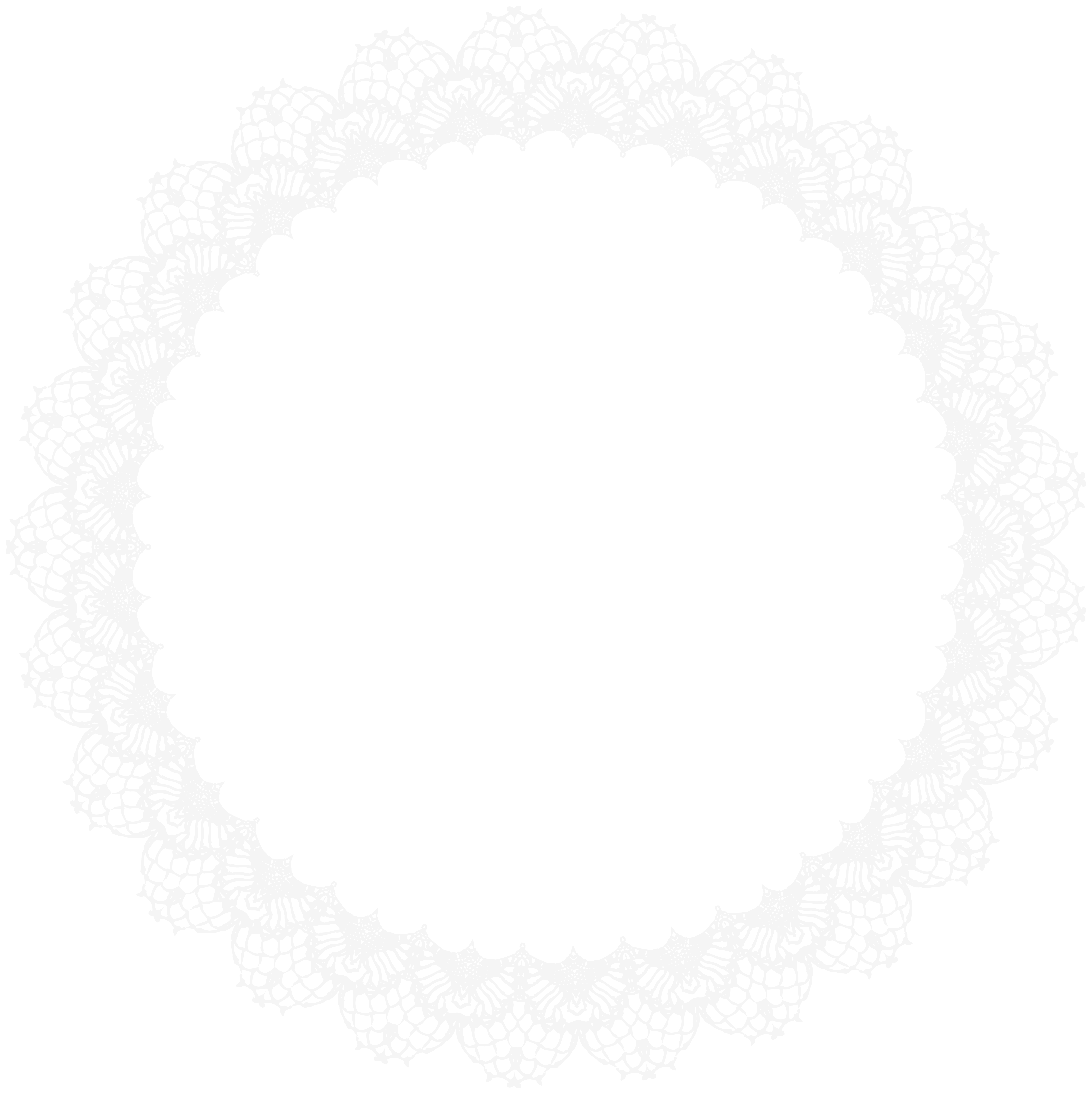 Gold clipart doily. Lace border frame png