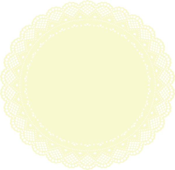 Circle clipart doily. Clip art at clker