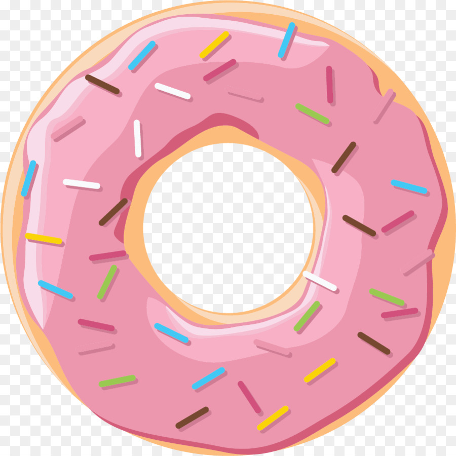 Donut clipart circle. Pink wheel transparent clip