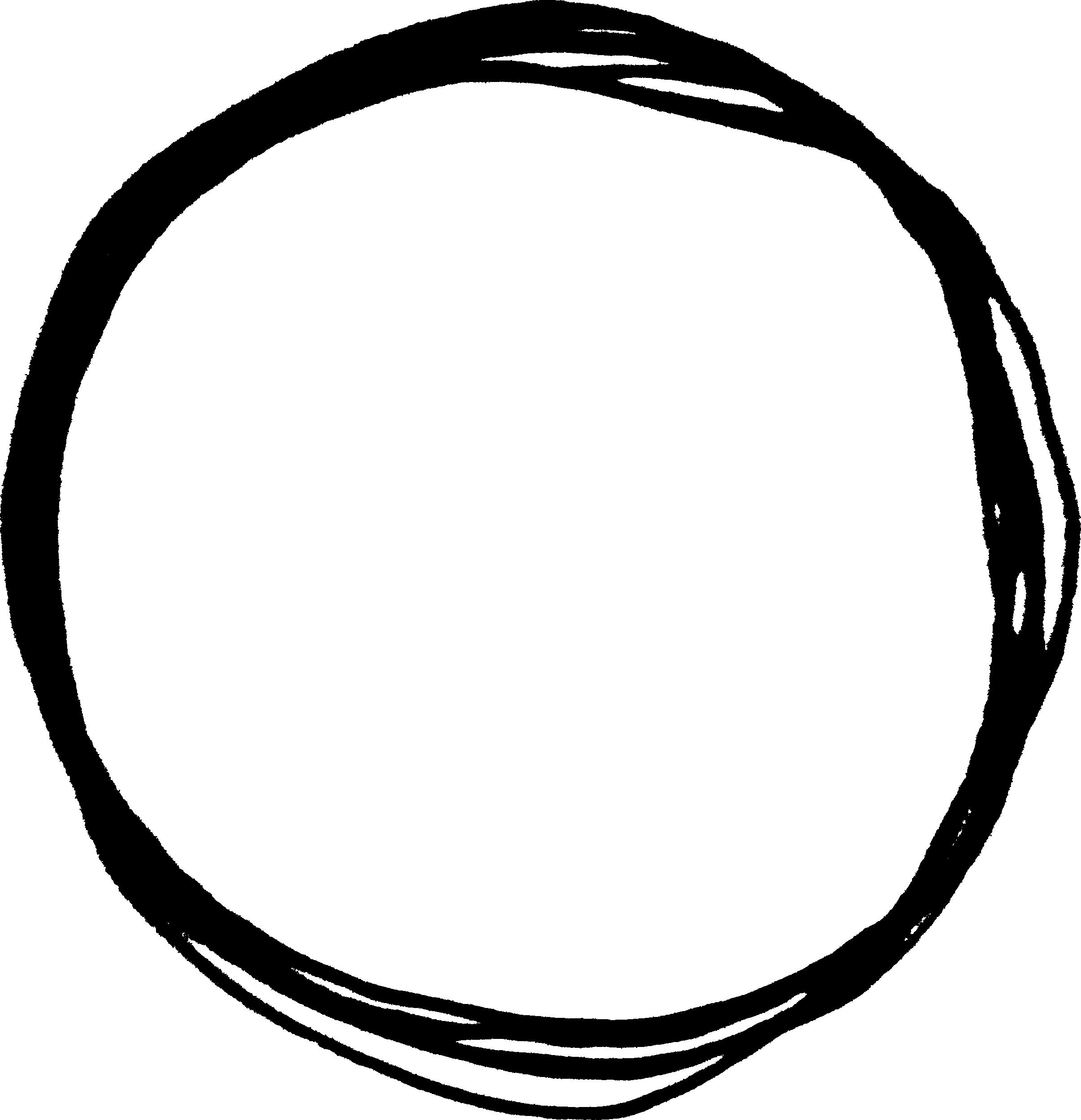 scribble png transparent. Clipart circle doodle