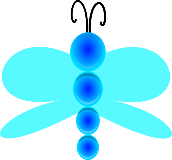 Raindrop clipart teal. Jesseakc dragon fly clip