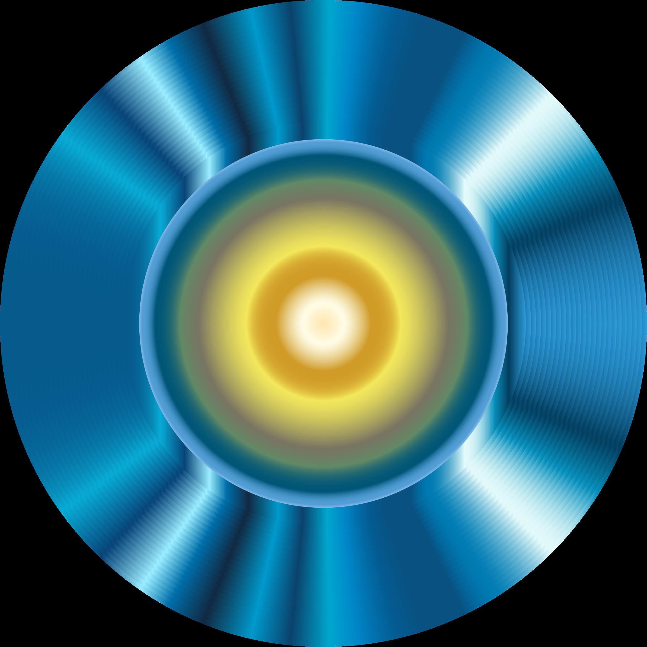 Robot eye. Dictionary clipart blue