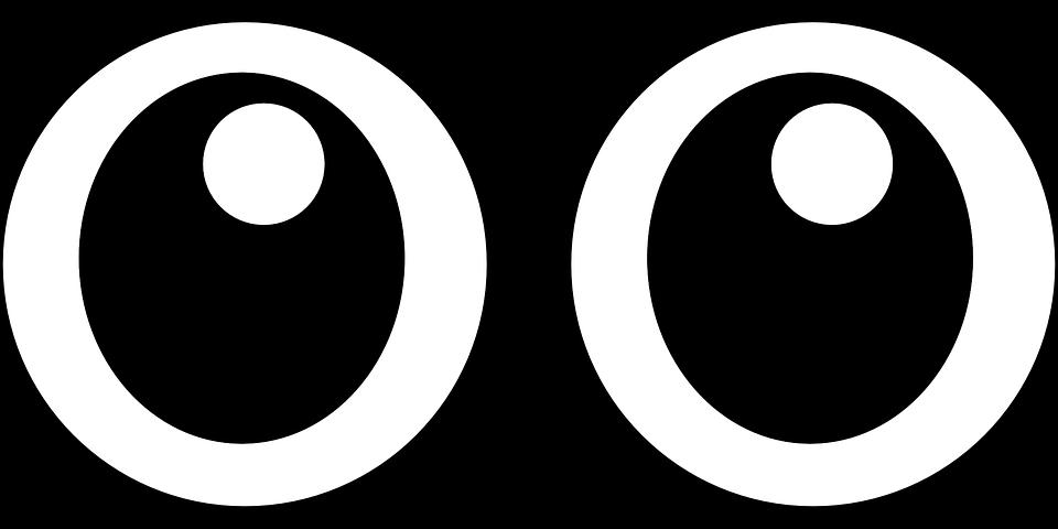 Clipart man eyes. Brand white black circle