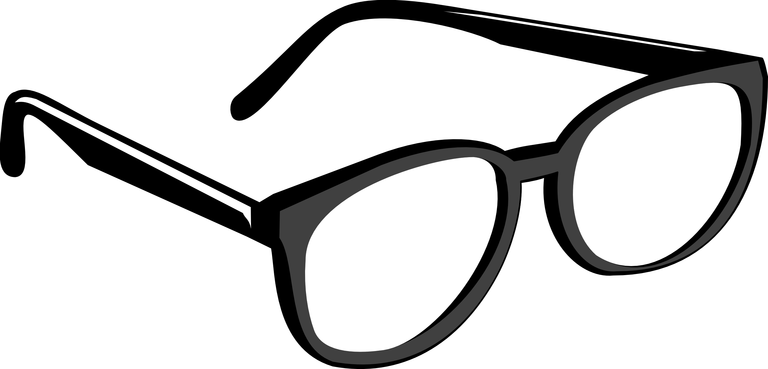 Glasses vector png. Google eye clipart