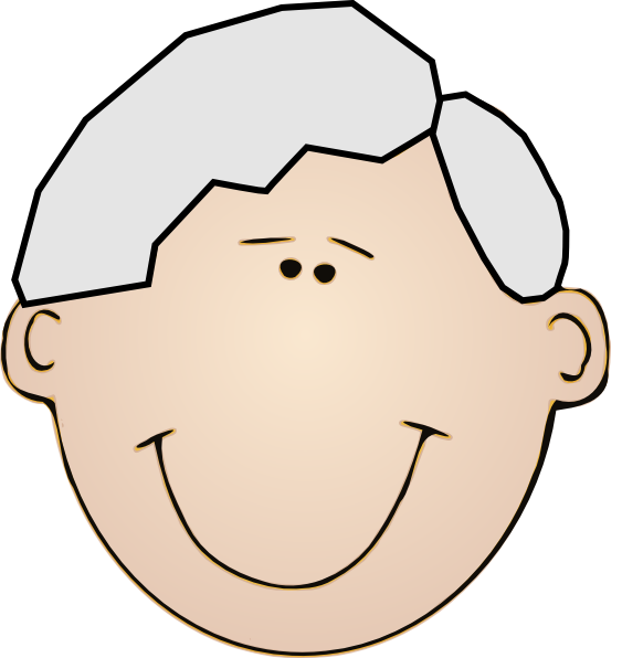 Opa clip art at. Circle clipart face