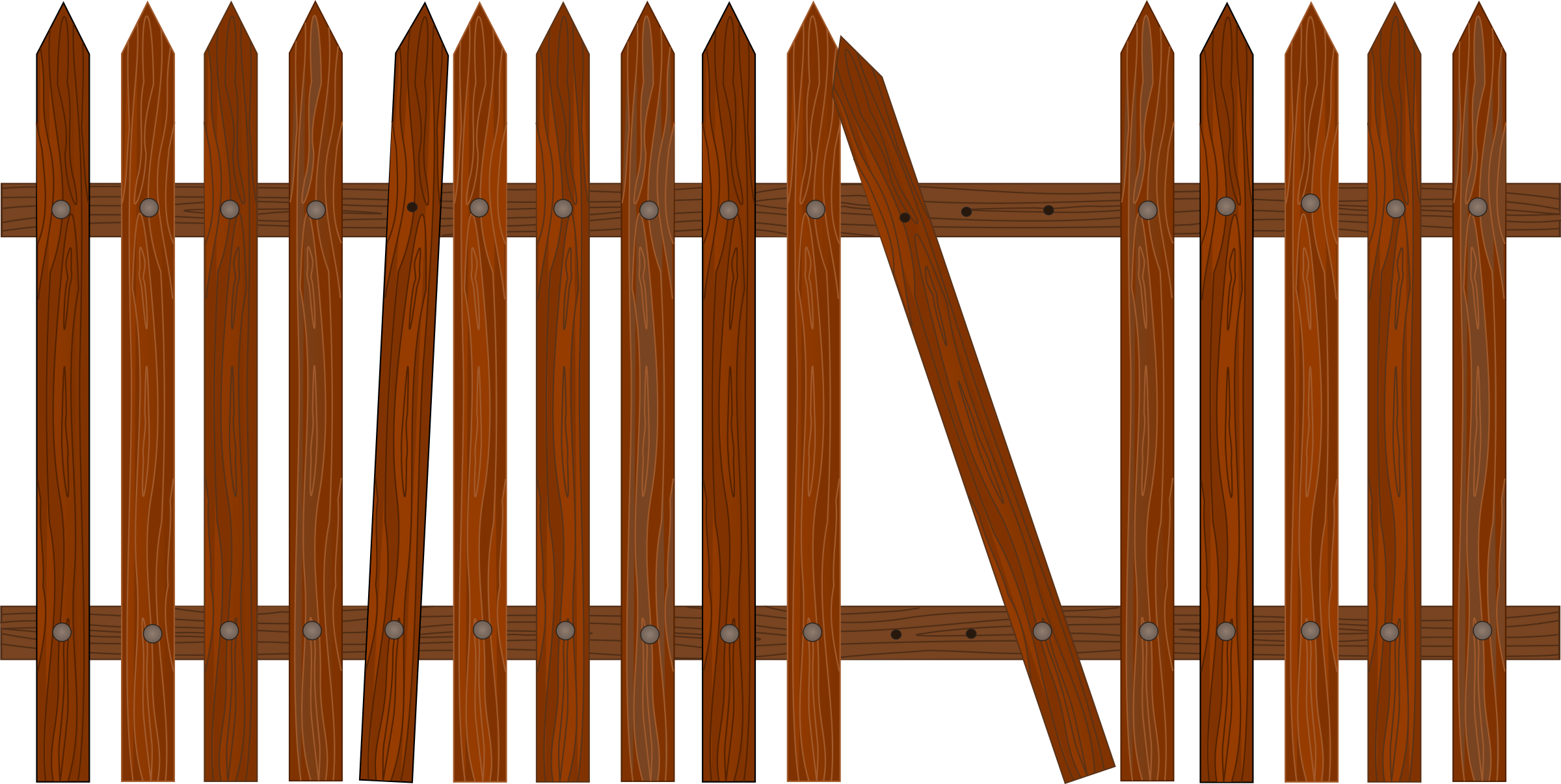 Gate clipart broken gate. Picket fence icons png
