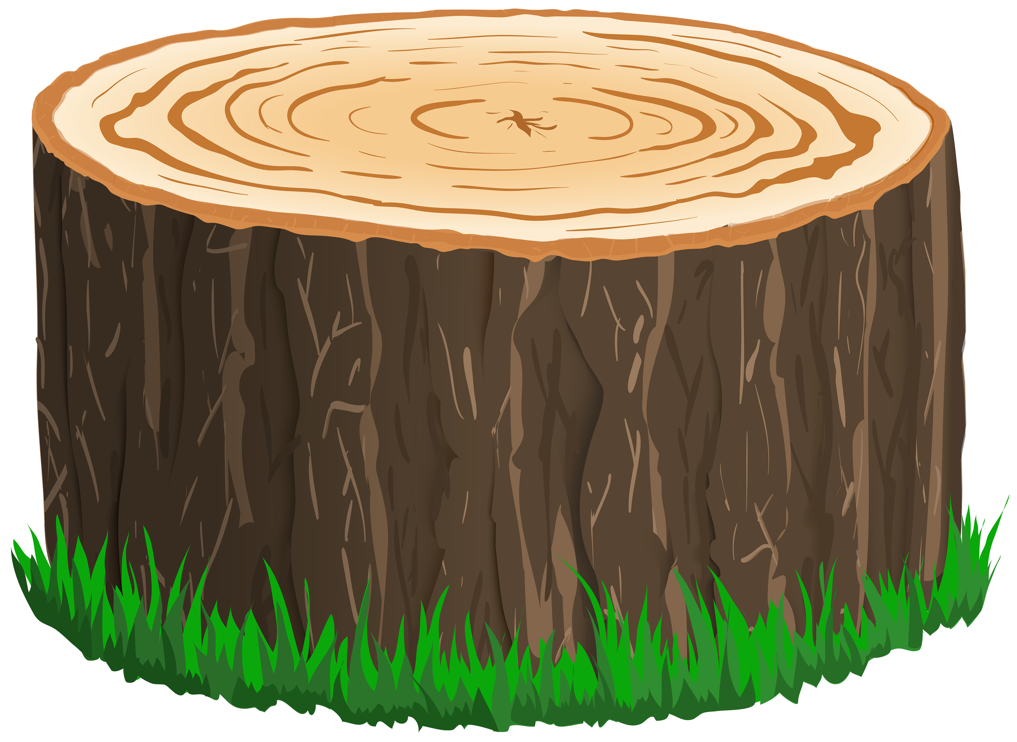Tree clipart circle. Stump image gallery yopriceville