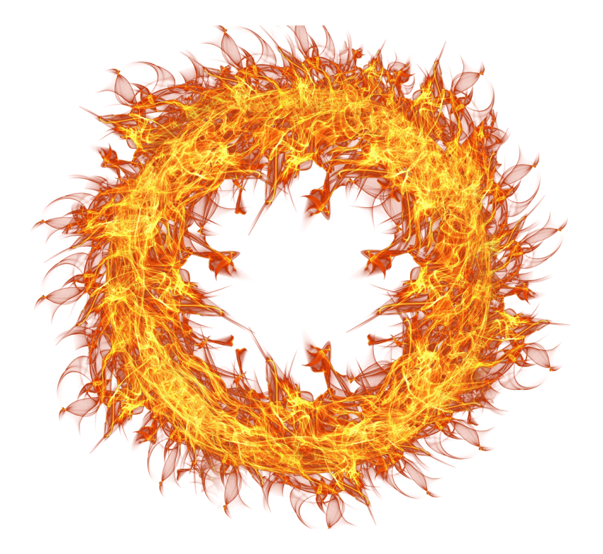 Flame png free images. Circle clipart fire