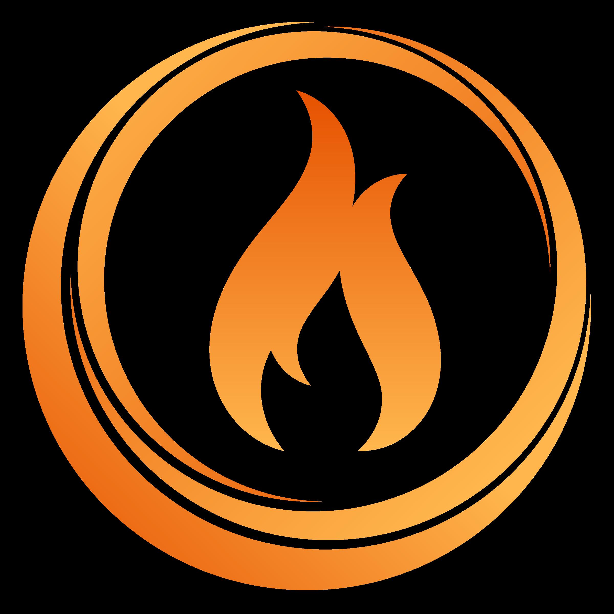 Circle clipart fire. Big image png