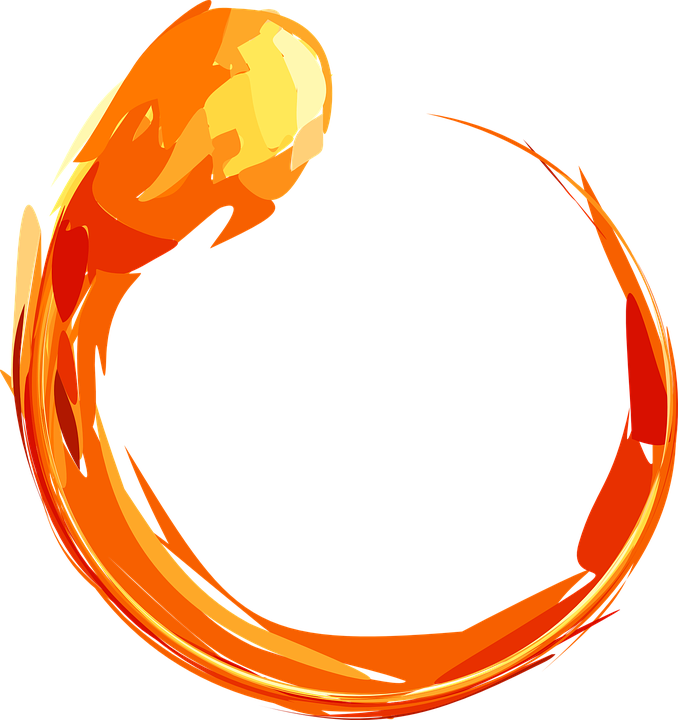 Blaze pencil and in. Clipart heart fire