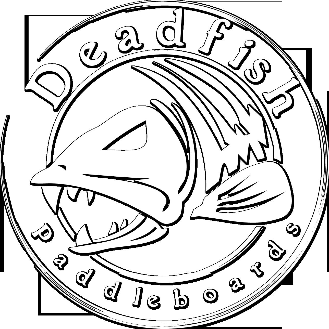 Circle clipart fish. Dead drawing at getdrawings