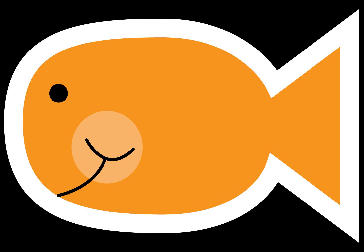 Circle clipart fish. O ally a new