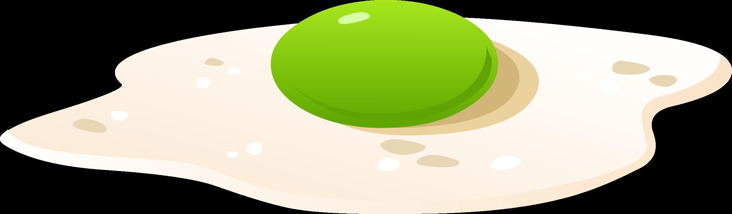 Green eggs big image. Circle clipart food
