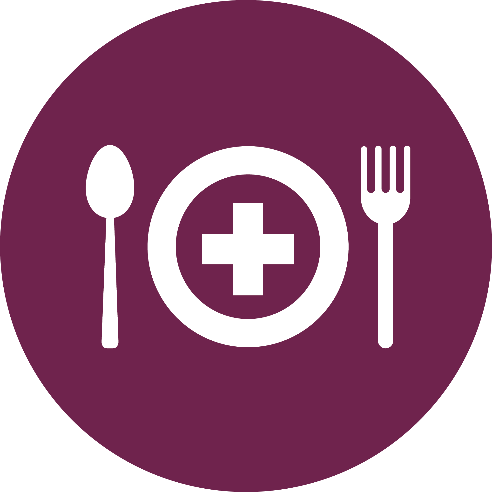 Get help i am. Food clipart circle