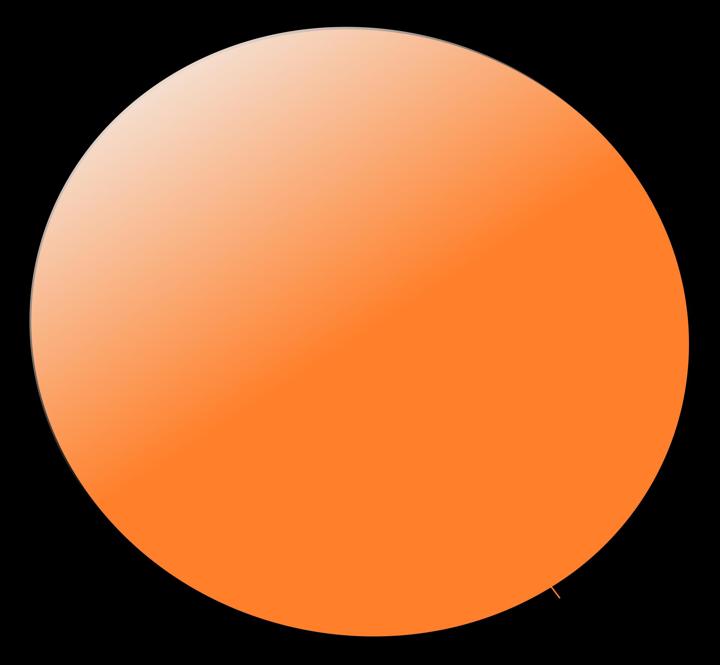 Peg people orange big. Circle clipart fruit