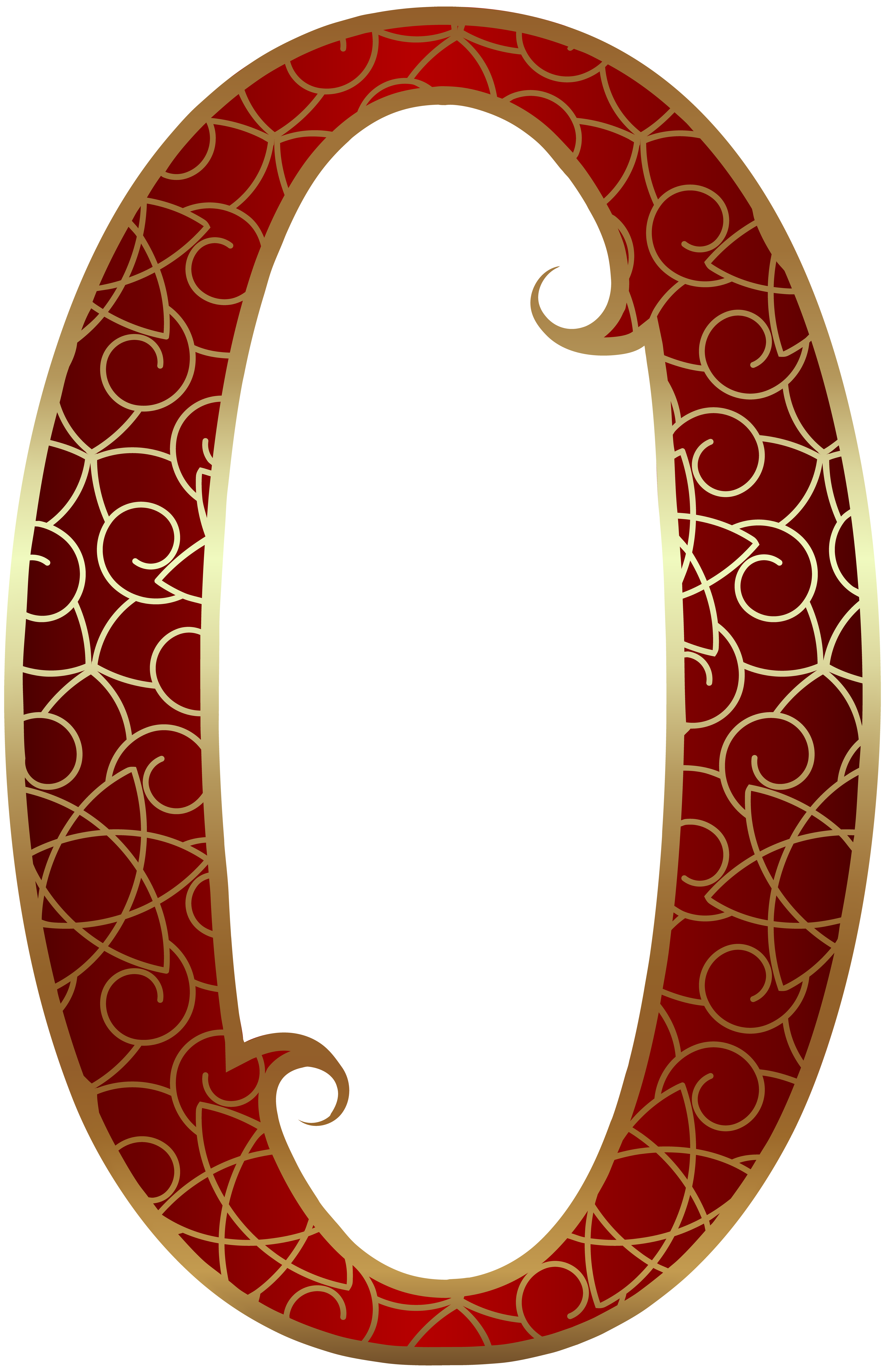 Gold red zero png. Number 1 clipart decorative