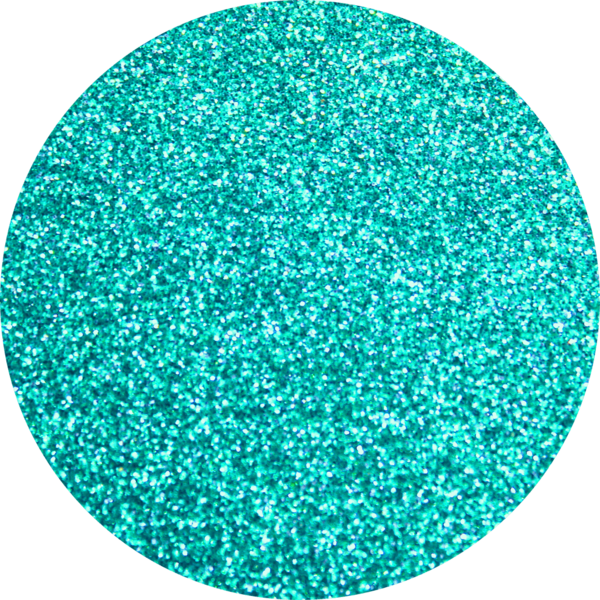 Circle clipart glitter. Opaque artglitter turquoise