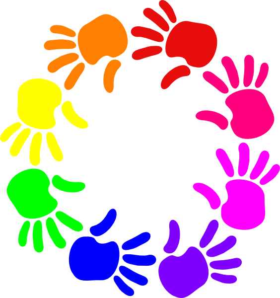 Of hands clip art. Circle clipart hand