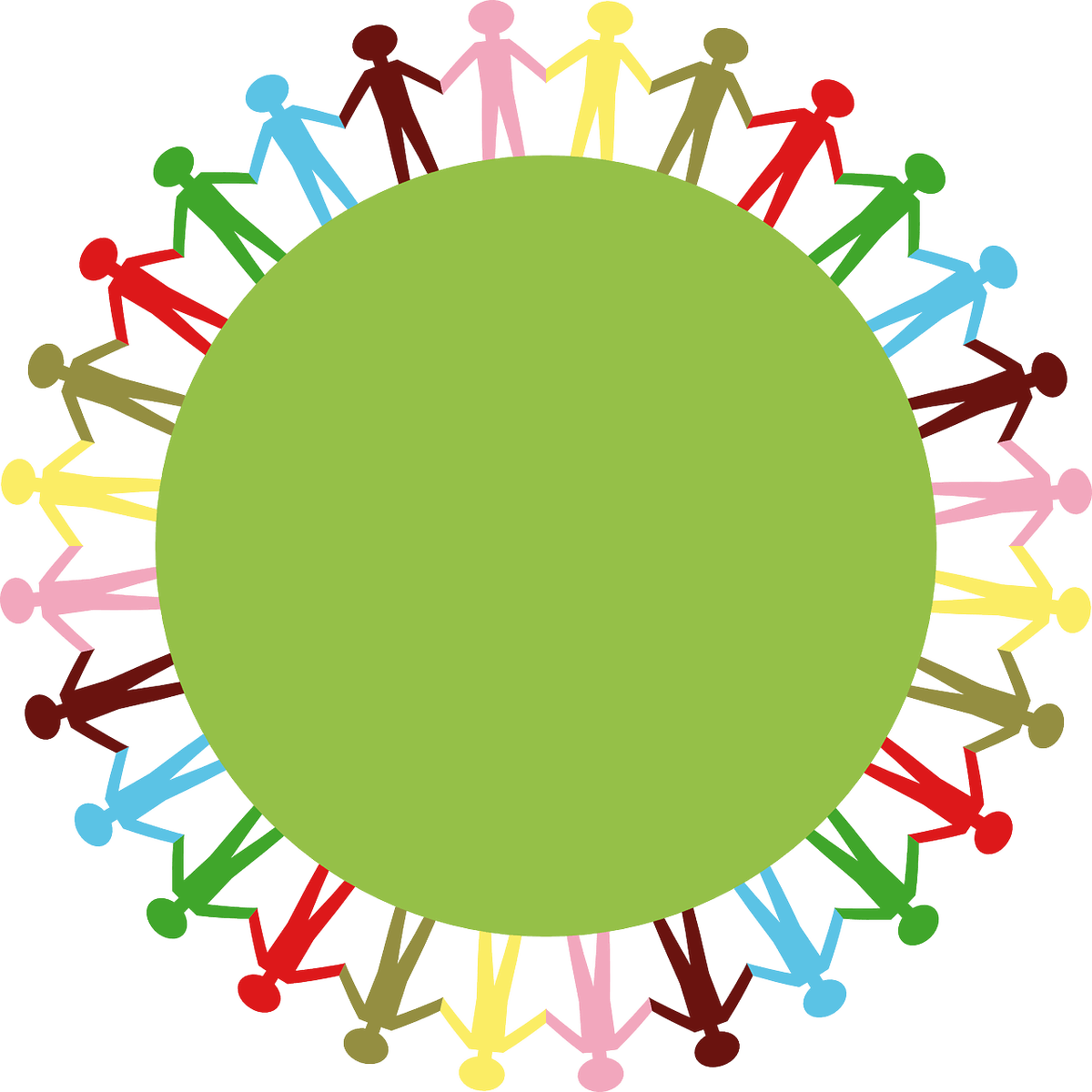 Top ways kids can. Clipart people circle