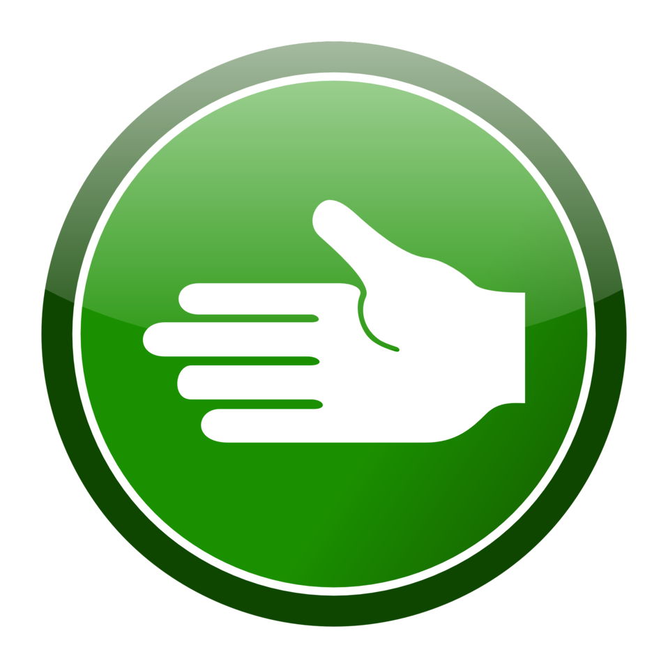 Circle clipart hand. Public domain clip art