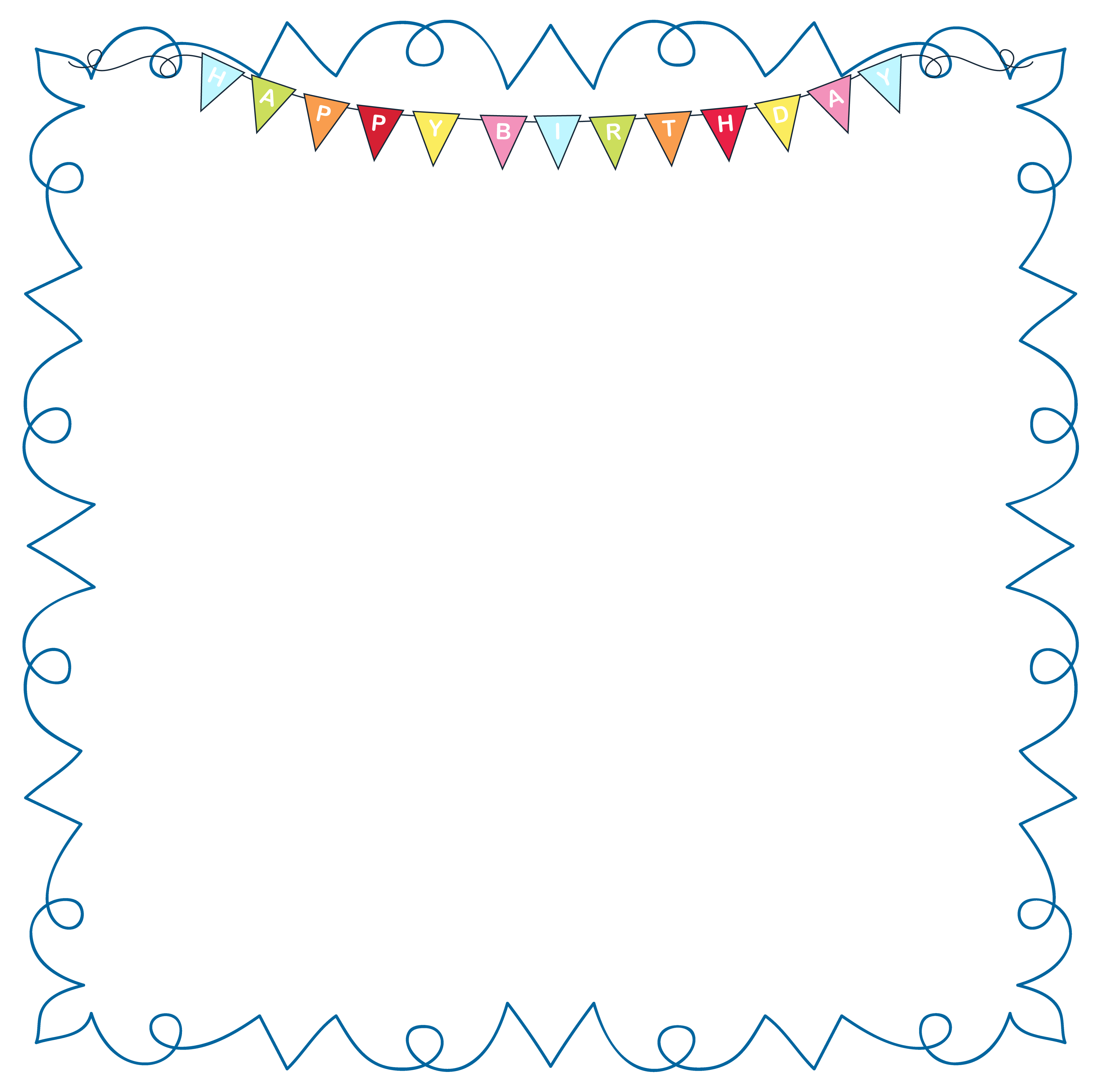 Birthdayframe png picture gallery. Happy clipart october