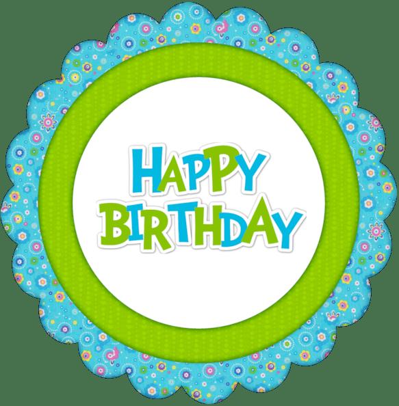 Circle clipart happy birthday. Cutecrafting free printable girls