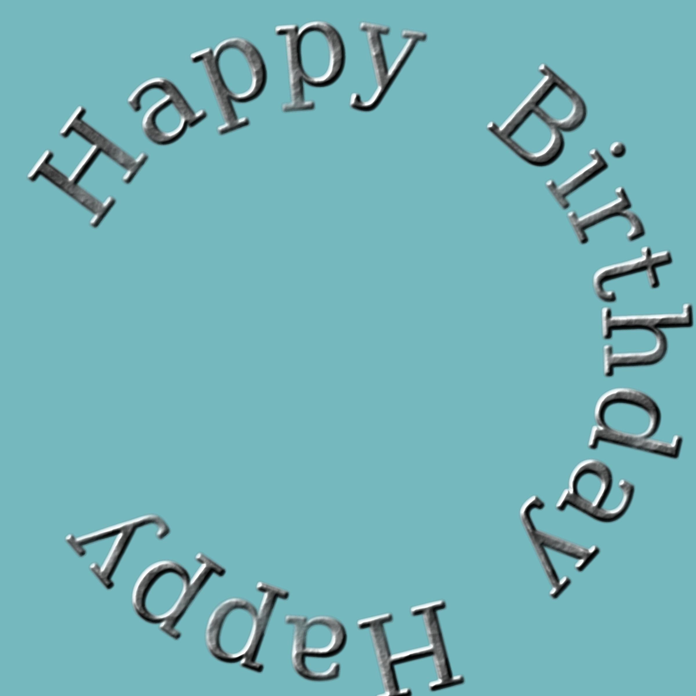 Big image png. Circle clipart happy birthday