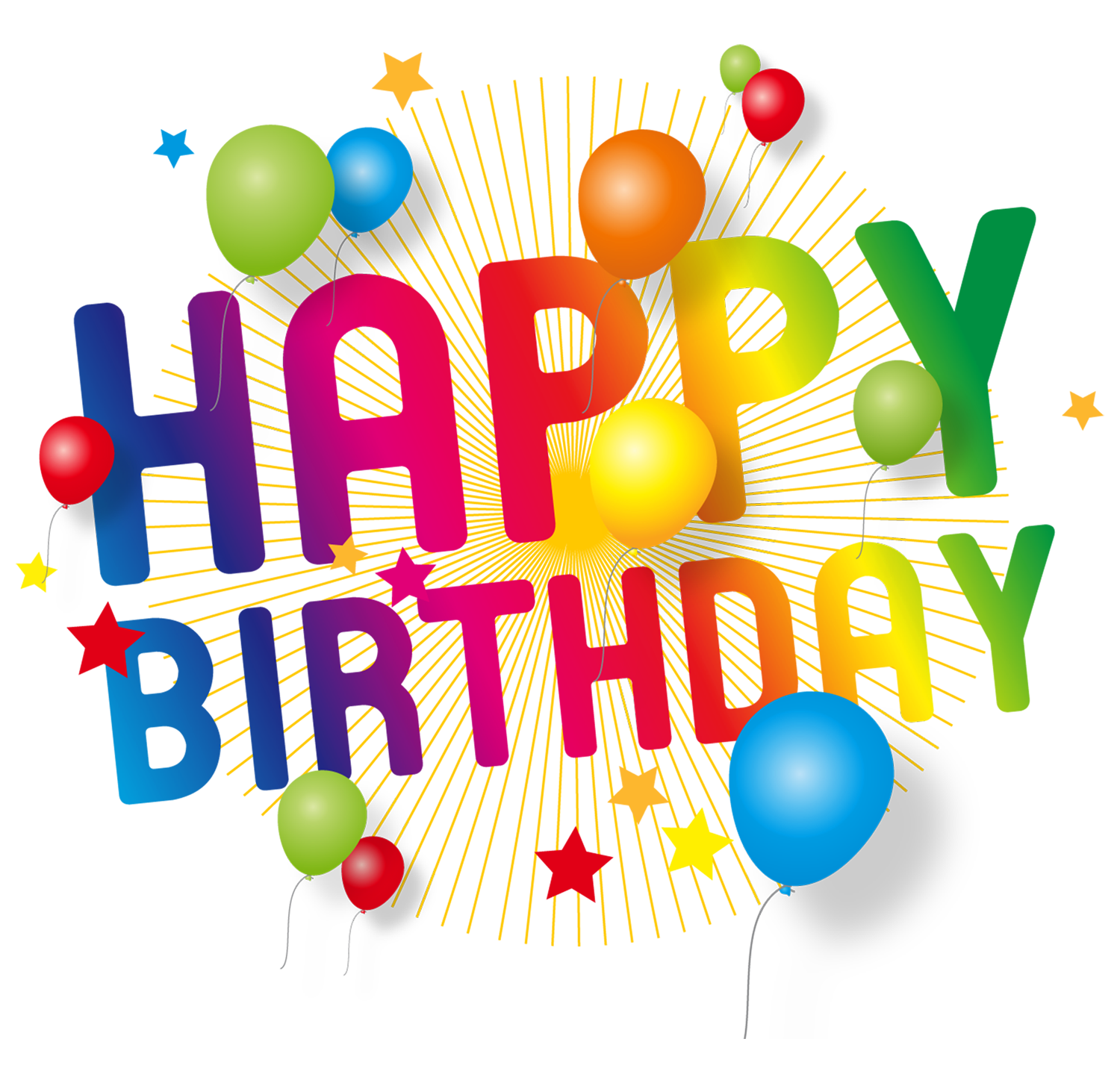 Free clipart happy birthday. Transparent decoration png picture