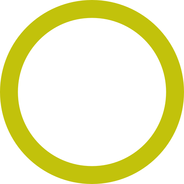 Empty dark yellow ring. Oval clipart hollow