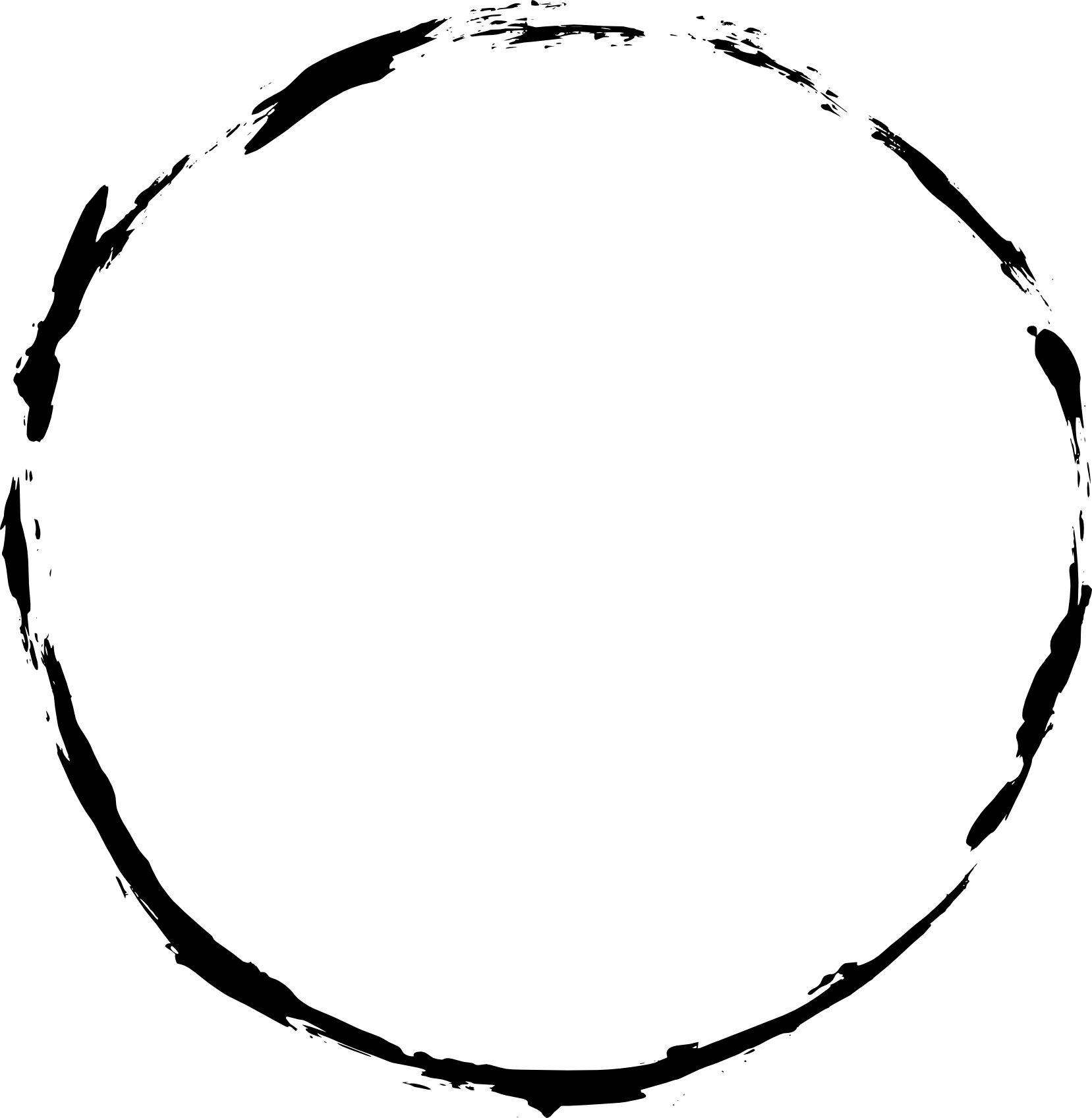 6 Grunge Circle Frame (PNG Transparent) | OnlyGFX.com