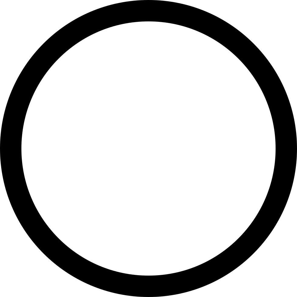 Pc Hollow Circle Svg Png Icon Free Download