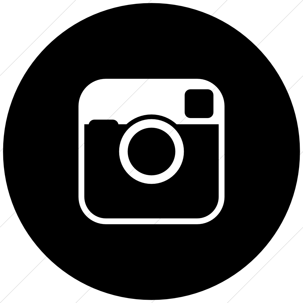 Circle clipart instagram. Unique black and white