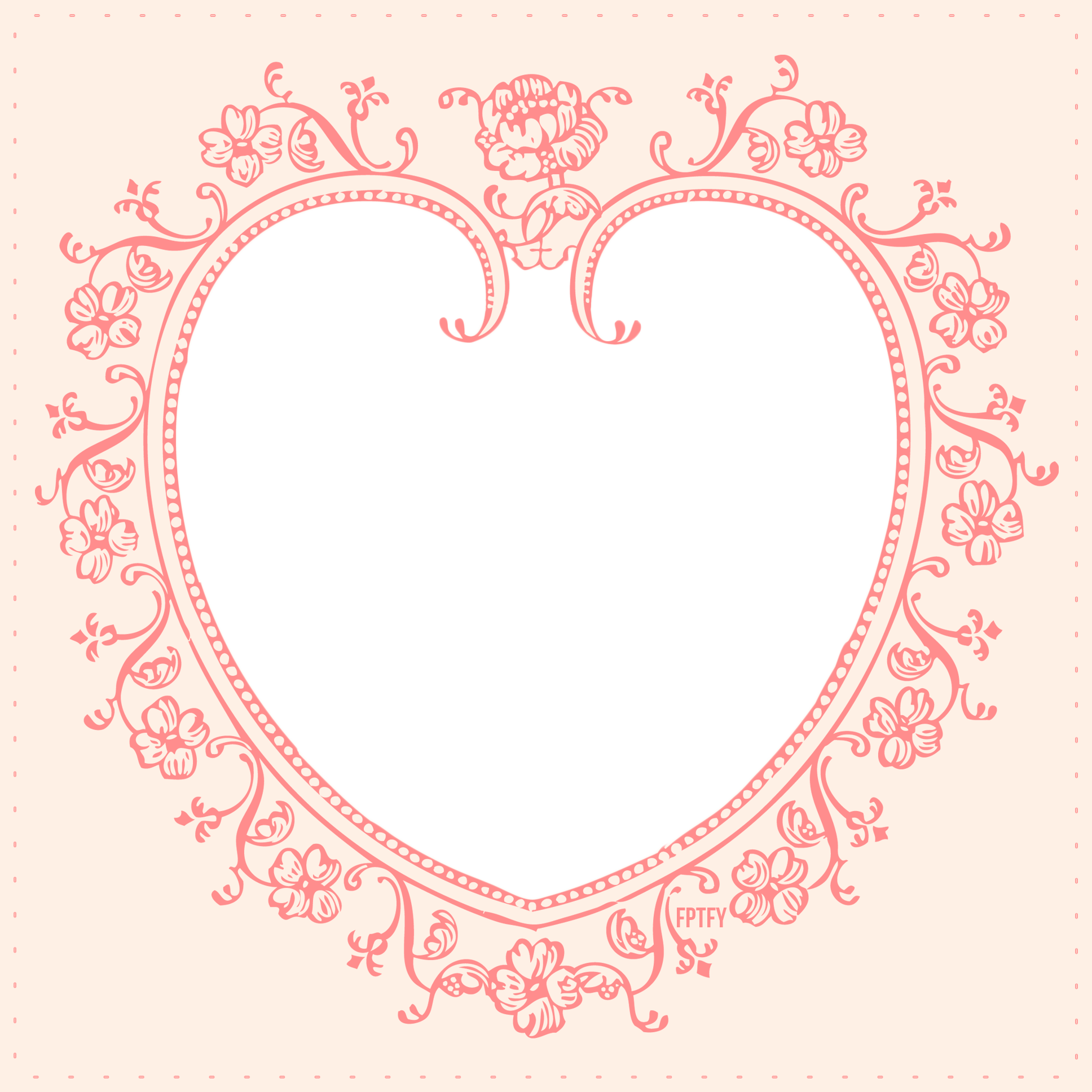 Free love web frame. Circle clipart instagram