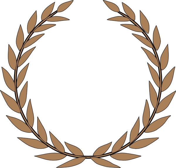 Clipart circle leaf. Leaves in a clip