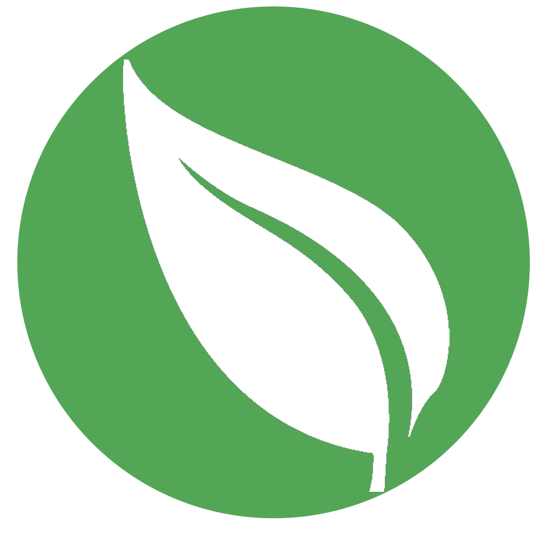 Clipart circle leaf. High resolution png free