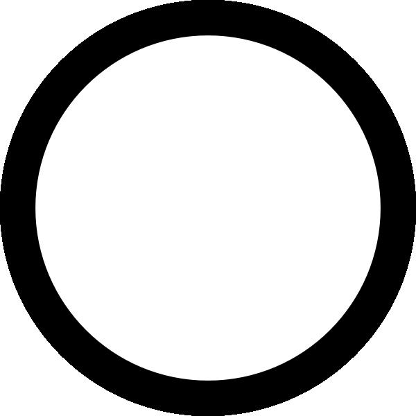 E clipart circle. Black clip art at