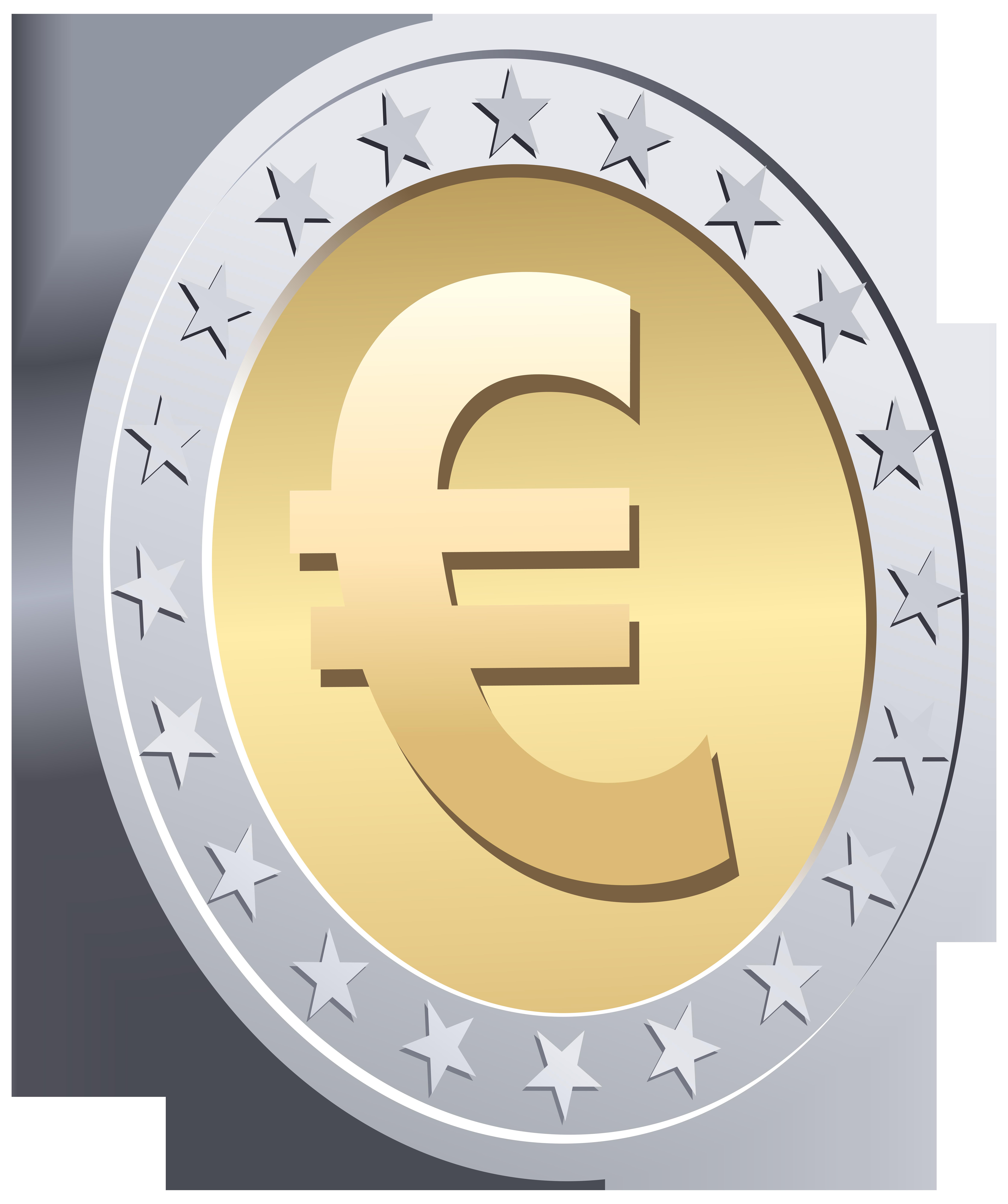 Euro cent png clip. Clipart circle money