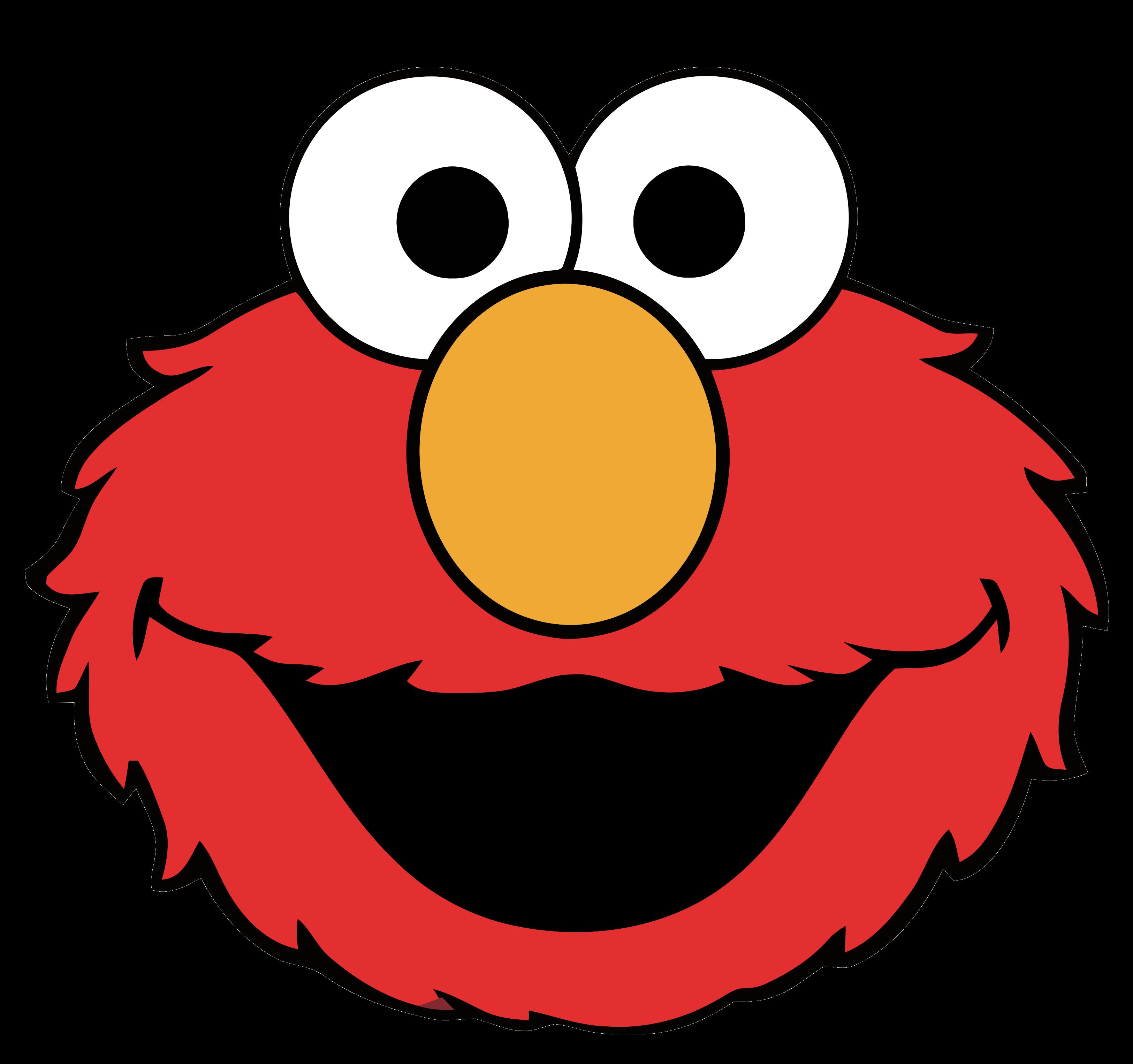 Elmo clipart sesame street, Elmo sesame street Transparent ...