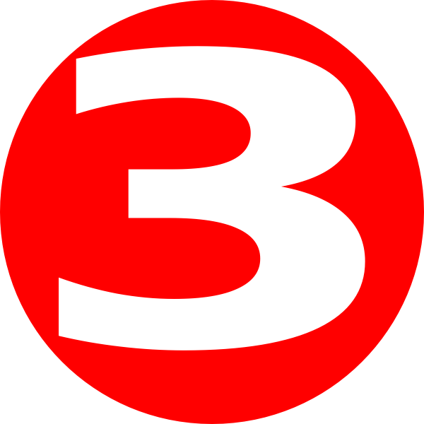 Number 6 Clipart Red  Number 6 Red Transparent Free For