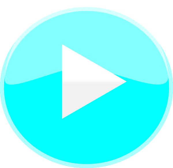 Circle clipart ocean. Blue play icon clip