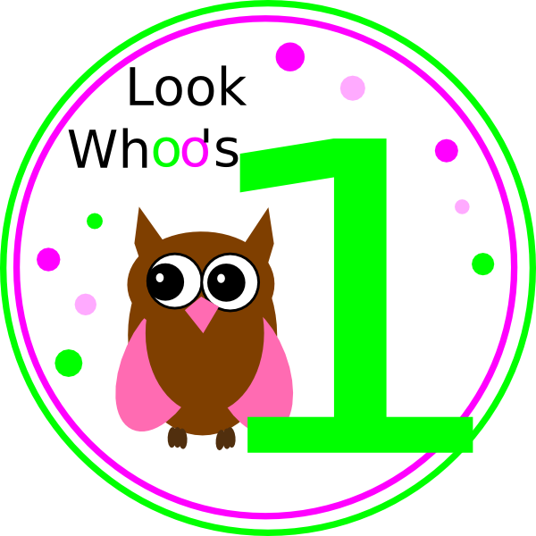 Circle clipart owl. Birthday clip art at