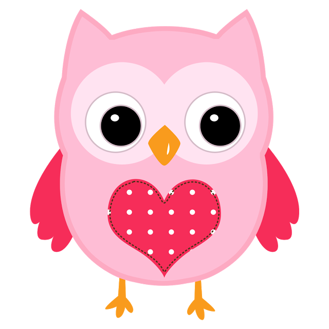 Circle clipart owl. Corujinhas rosa azul verde