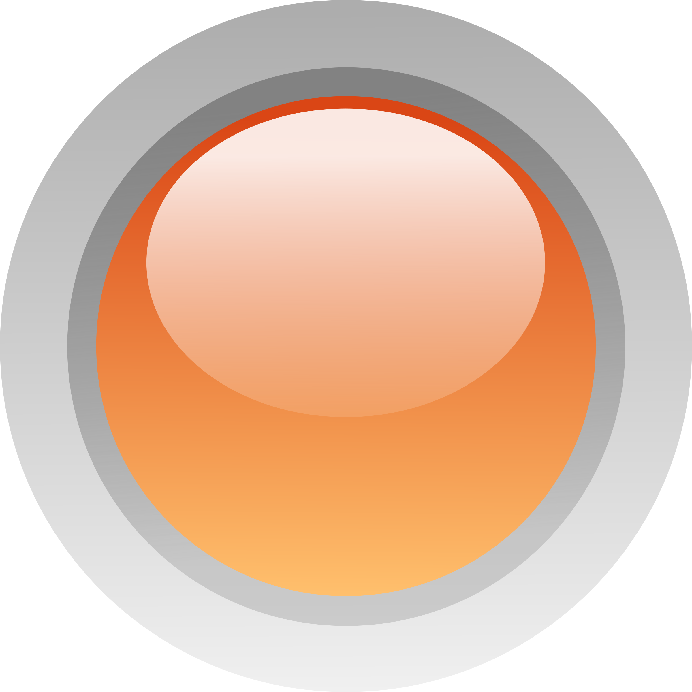 Led orange. Circle clipart peach