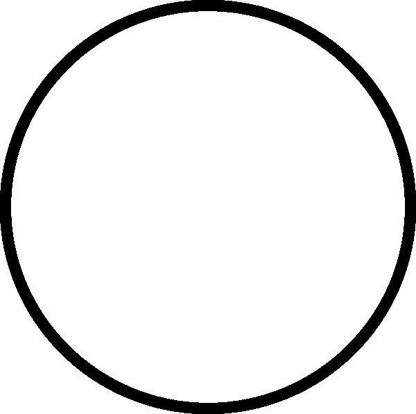 Transparent black clip art. Circle clipart pen