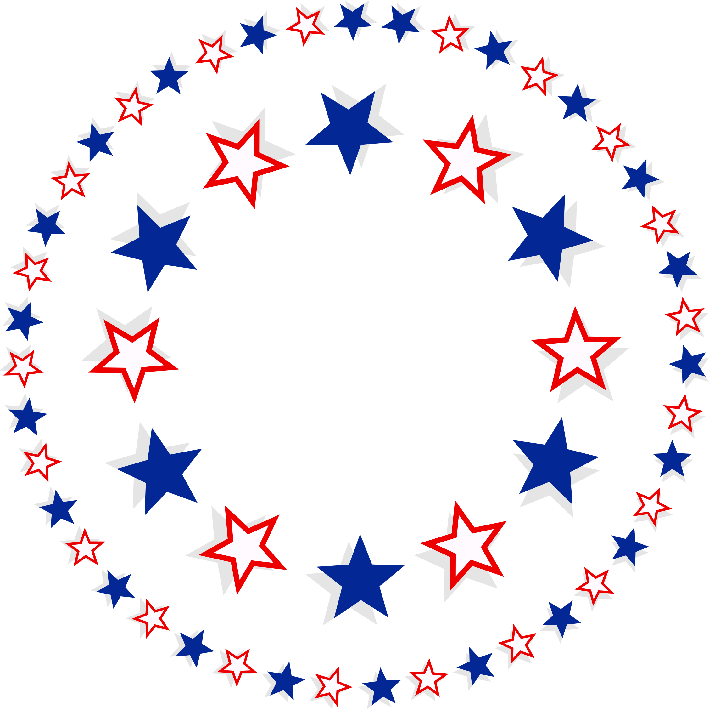 Peace clipart patriotic. Circle star pencil and
